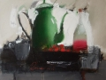 зелений чайник 80x70см