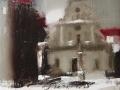 Львів. Зима 80x70