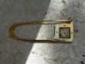 composition metal brooch 74