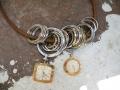 composition metal necklace 200