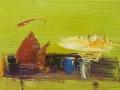 Натюрморт з вишнями. 50х80