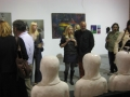 An opening of exhibition