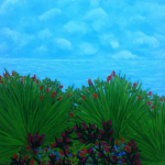 """Everlasting Garden"". Natalia Bartkiv painting. 1- 20 of November 2016"