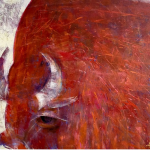 Unframed meeting. Painting by Wictoria Dubovyk. 31/08 – 26/09/ 2021