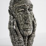 «Голова». Живопись и скульптура Людмили Давыденко. 4-30 июля 2017.
