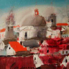 "Solo exhibition by Oleg Gyzhy entitled ""People and the City"" 18.09 – 7.10.12"