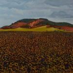 "Olesia Kaznokh. ""Ploughland"". Paintings. June, 5 – July, 1 2018"