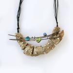 """When the morning comes""  – Exhibition of jewelry  by Maya Kotelnitskaya. 2016.08.30 – 09.18."