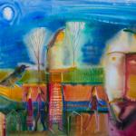Виставка Романа Опалинського. 3 – 22 листопада 2015 року. Живопис на склі, акварель.