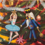 """Різдвяна виставка в """"Зеленій канапі"""" 17.12. 2013 – 12.01.2014"""